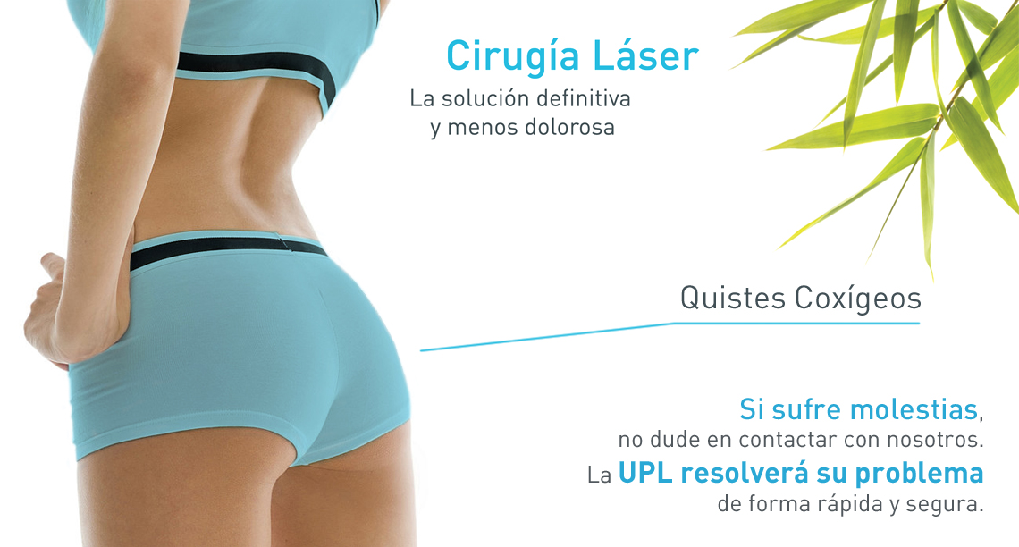 Operación láser de quistes coxígeos en Sevilla, Unidad de Proctología Laser